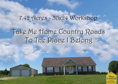 Knob Noster Single Family Home Sale Pending/Backups: 834 SE 600th