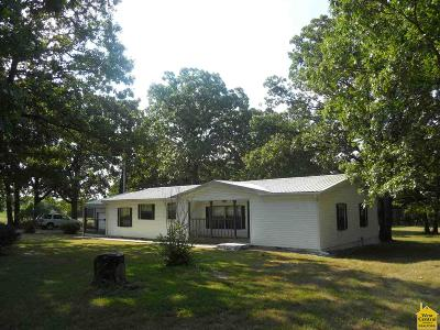 Osceola Manufactured Home For Sale: 2801 NE 351 Pvt. Road