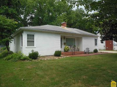 Henry County Single Family Home Sale Pending/Backups: 907 S 3rd St
