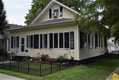 Sedalia MO Single Family Home For Sale: $105,000
