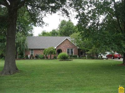 Sedalia MO Single Family Home Sale Pending/Backups: $229,900