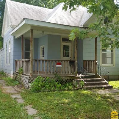 Sedalia MO Single Family Home For Sale: $23,000