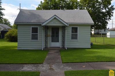Sedalia MO Single Family Home For Sale: $47,500