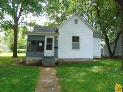 Sedalia MO Single Family Home For Sale: $20,000