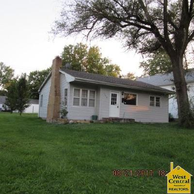 Sedalia Single Family Home Sale Pending/Backups: 1324 E 9th