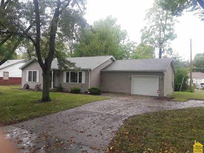 Sedalia MO Single Family Home Sale Pending/Backups: $112,500
