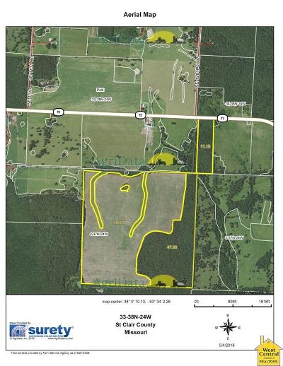 Osceola Residential Lots & Land For Sale: SE Hwy Tt