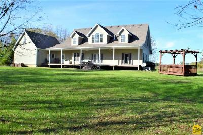 Johnson County Single Family Home Sale Pending/Backups: 1184 SE 185th Rd