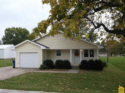 Smithton Single Family Home Sale Pending/Backups: 105 W Smith