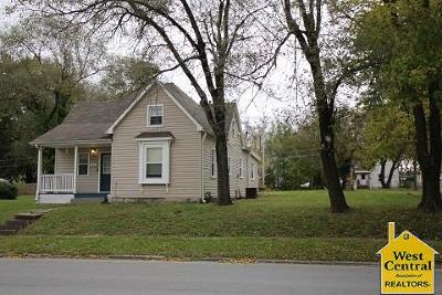 Sedalia Single Family Home Sale Pending/Backups: 1801 S Grand