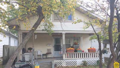 Sedalia Single Family Home Sale Pending/Backups: 1011 S Lamine