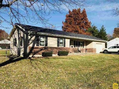 Sedalia Single Family Home For Sale: 1640 Country Club Blvd