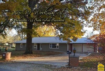 Knob Noster Single Family Home Sale Pending/Backups: 205 W Workman St