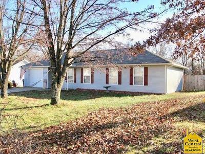 Knob Noster Single Family Home Sale Pending/Backups: 1148 NE 15