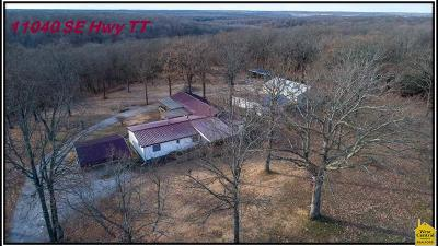 Osceola Single Family Home For Sale: 11040 SE Hwy Tt