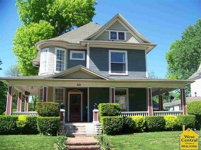 Sedalia Single Family Home Sale Pending/Backups: 618 W 6th