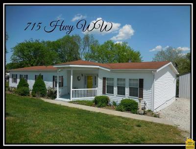 Osceola Single Family Home For Sale: 715 Hwy Ww