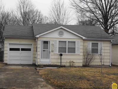 Sedalia MO Single Family Home For Sale: $59,900