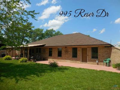 Osceola Single Family Home For Sale: 995 Reser Dr