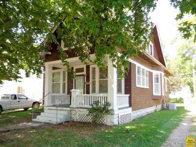 Sedalia Single Family Home For Sale: 1208 S Massachusetts