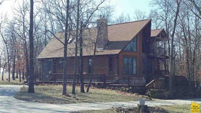 Benton County, Henry County, Hickory County, Saint Clair County Single Family Home For Sale: 878 SE 421 Pvt Rd