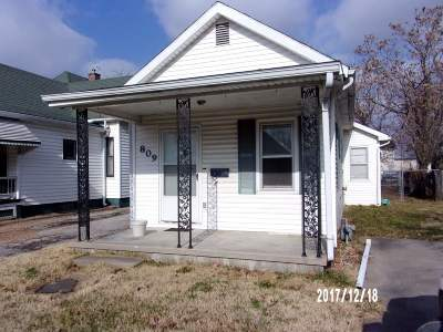 Sedalia MO Single Family Home For Sale: $22,900