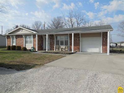 Sedalia Single Family Home Sale Pending/Backups: 207 Carlene