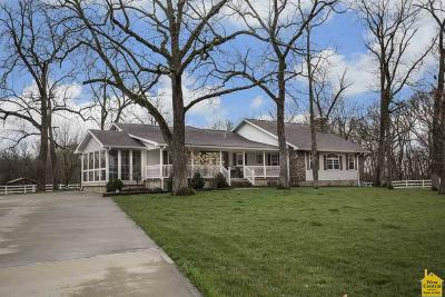 Sedalia Single Family Home Sale Pending/Backups: 24800 Spring Fork Rd