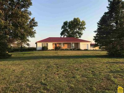 Houstonia MO Single Family Home For Sale: $212,500