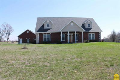 Sedalia Single Family Home For Sale: 32824 Hwy U