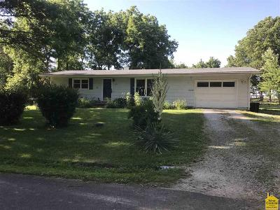 Sedalia MO Single Family Home Sale Pending/Backups: $92,500