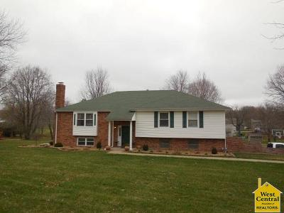Sedalia MO Single Family Home Sale Pending/Backups: $245,000