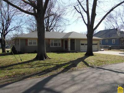 Sedalia Single Family Home Sale Pending/Backups: 1604 E 11th