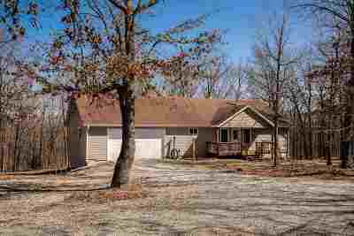Benton County, Henry County, Hickory County, Saint Clair County Single Family Home For Sale: Box 124-11 Hc 67