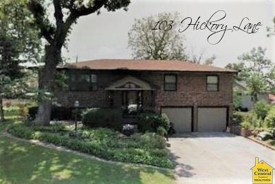 Windsor Single Family Home For Sale: 103 Hickory Lane