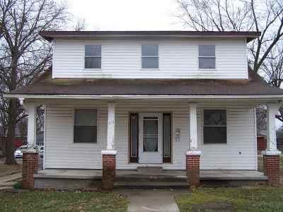 Sedalia Single Family Home For Sale: 1614 E 7th
