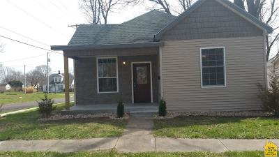 Sedalia MO Single Family Home For Sale: $125,500
