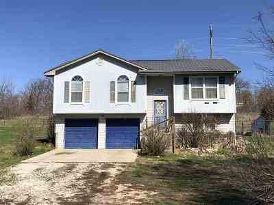 Warsaw Single Family Home For Sale: 22869 Feaster Branch Rd