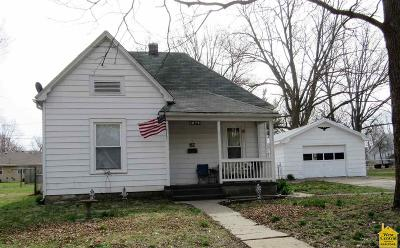 Sedalia MO Single Family Home For Sale: $64,900