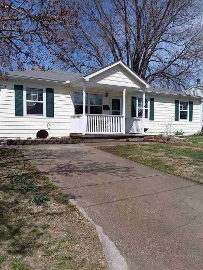 Pettis County Single Family Home Sale Pending/Backups: 1604 Honeysuckle