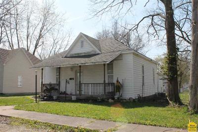 Sedalia Single Family Home Sale Pending/Backups: 714 E 9th