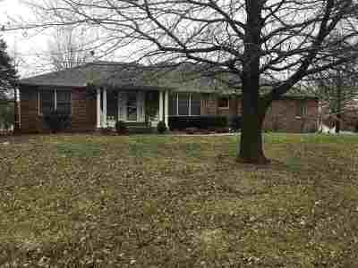 Sedalia Single Family Home Sale Pending/Backups: 1552 Quisenberry