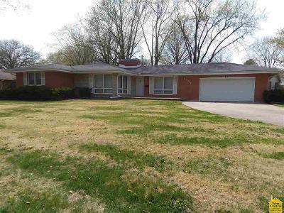 Sedalia MO Single Family Home For Sale: $132,500