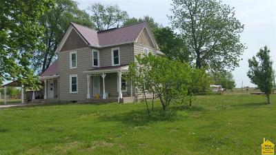 Otterville Single Family Home For Sale: 33601 Overstreet Rd
