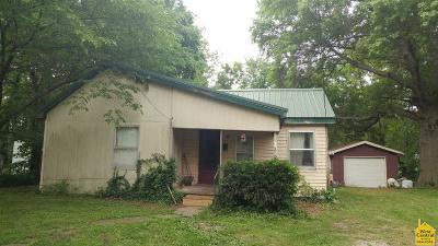 Clinton Single Family Home For Sale: 210 W Tebo