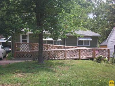 Sedalia Single Family Home Sale Pending/Backups: 405 E Boonville