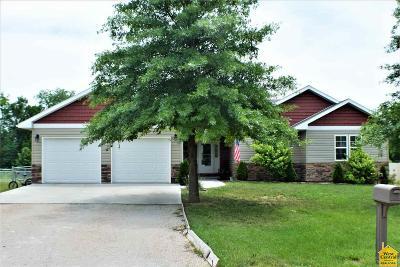 Johnson County Single Family Home Sale Pending/Backups: 137 NW 171 Rd