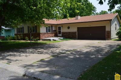 Sedalia MO Single Family Home For Sale: $138,500