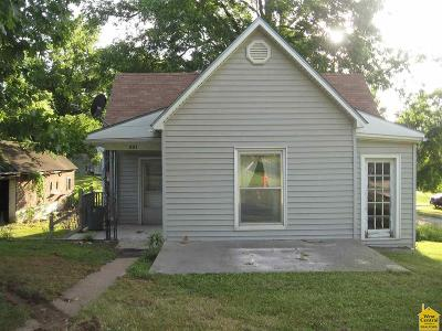 Calhoun Single Family Home Sale Pending/Backups: 301 S Maple