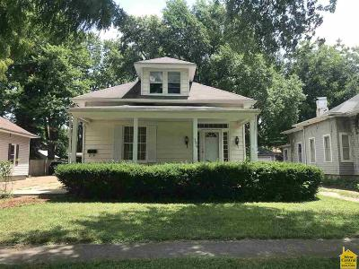 Sedalia MO Single Family Home For Sale: $96,000